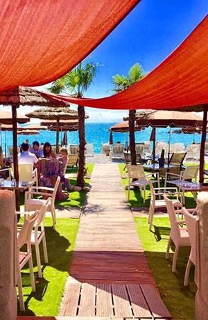 Plage privée - La Playa - Restaurant Villeneuve-Loubet